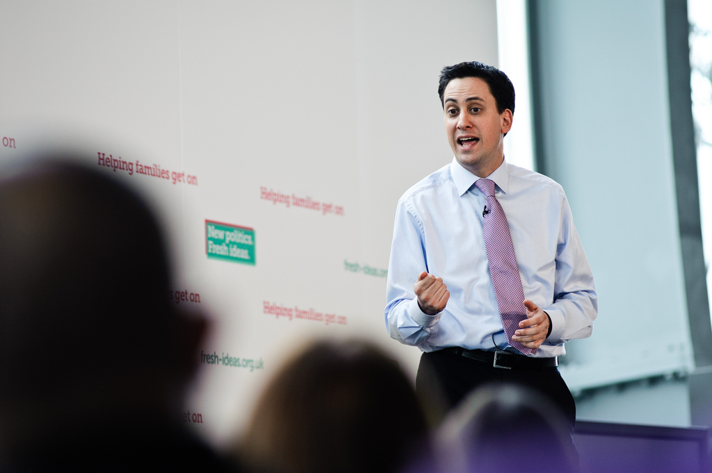 Miliband pledges to decrease business rates, increase corporation tax