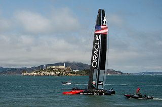 5 ways big data won the America?s Cup for Ainslie and Oracle Team USA