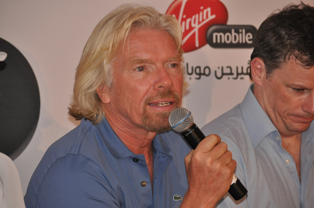 Richard Branson launches Virgin Startup