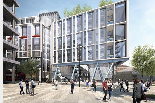 Google's new 1m square foot London office
