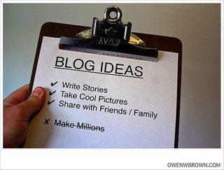 Nine reasons why you shouldn't create a business blog