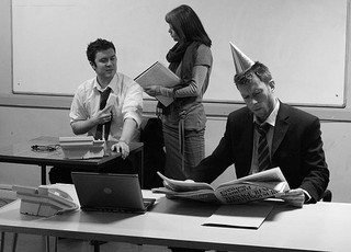 Top 10 embarrassing office party faux pas