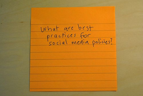 Why an employer's arsenal should include a clear social media policy