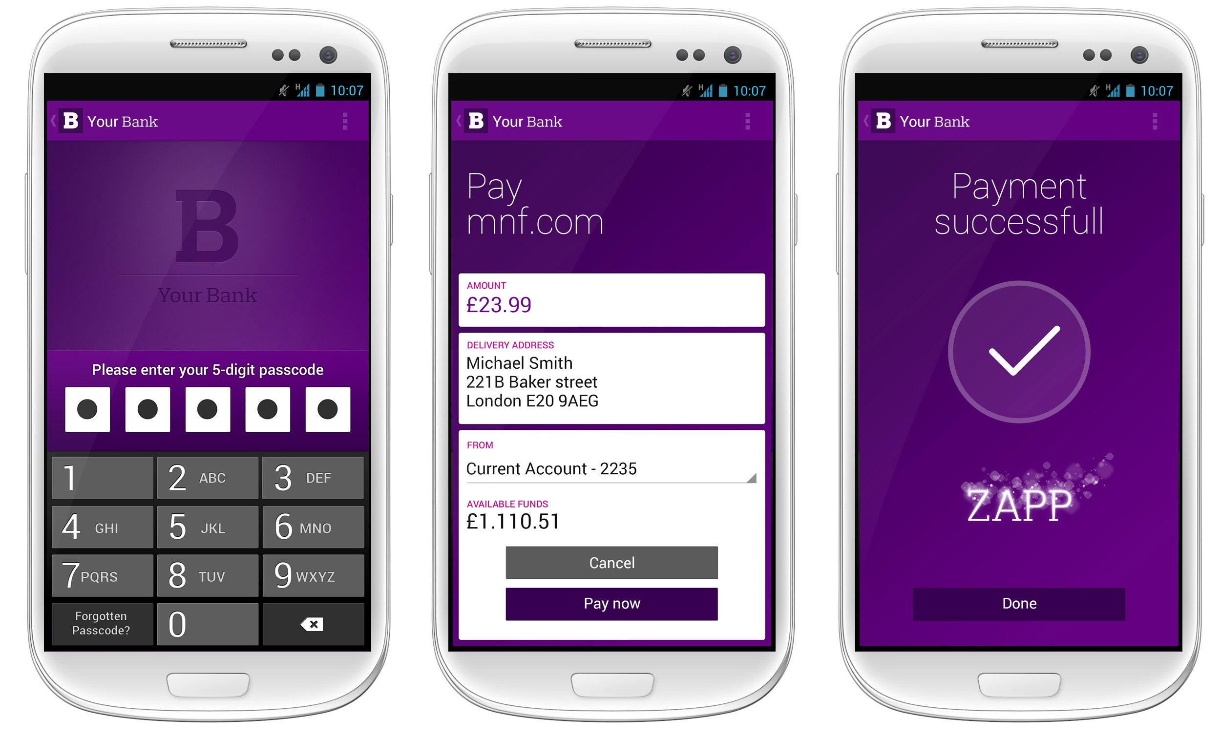 Five banks sign up to Zapp mobile payments service