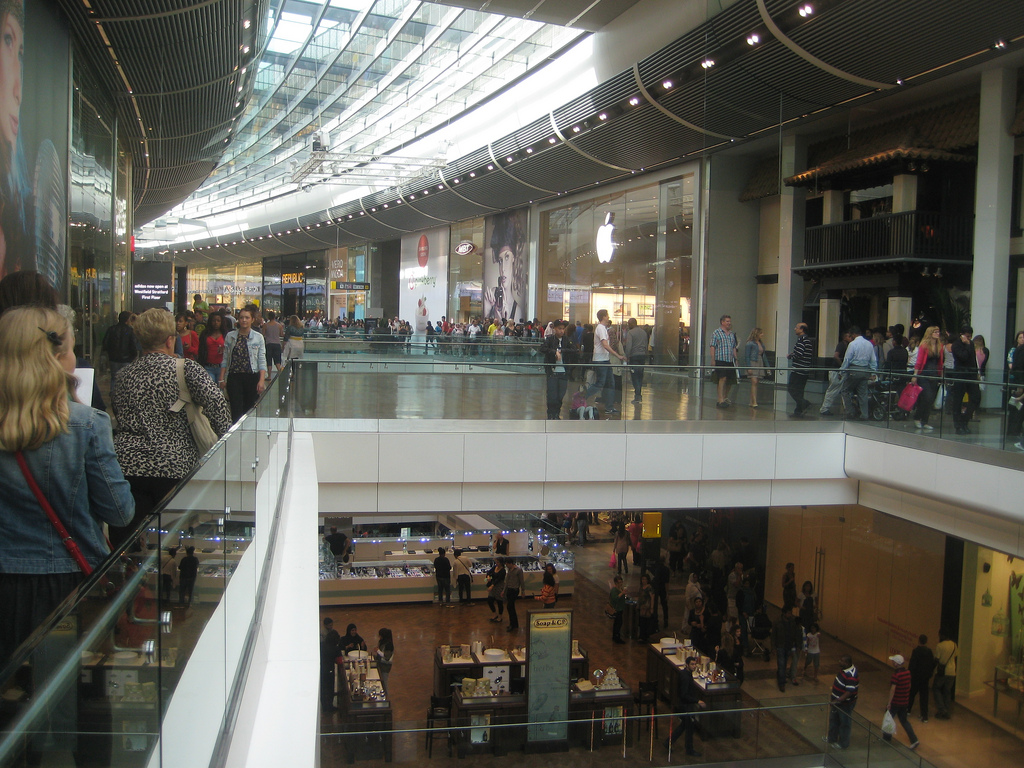 Retail footfall boosted as consumers hit the shops
