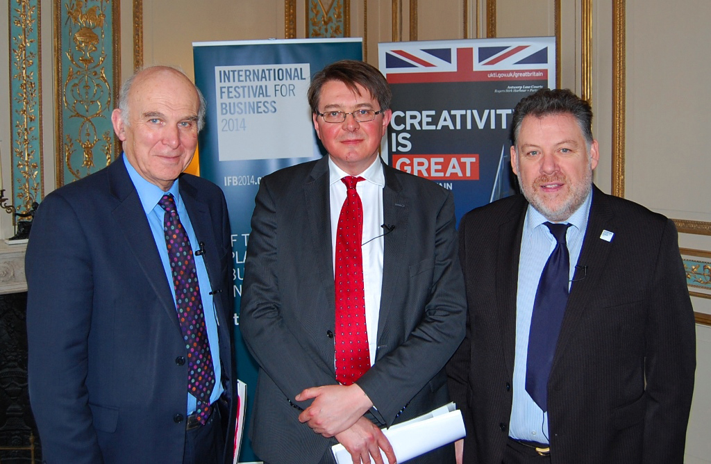 Vince Cable launches International Festival for Business