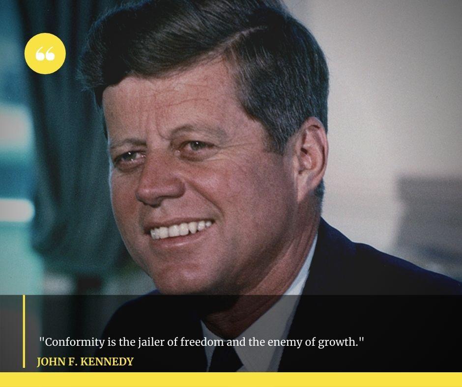 John F Kennedy
