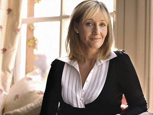 JK Rowling voted most inspiring female leader