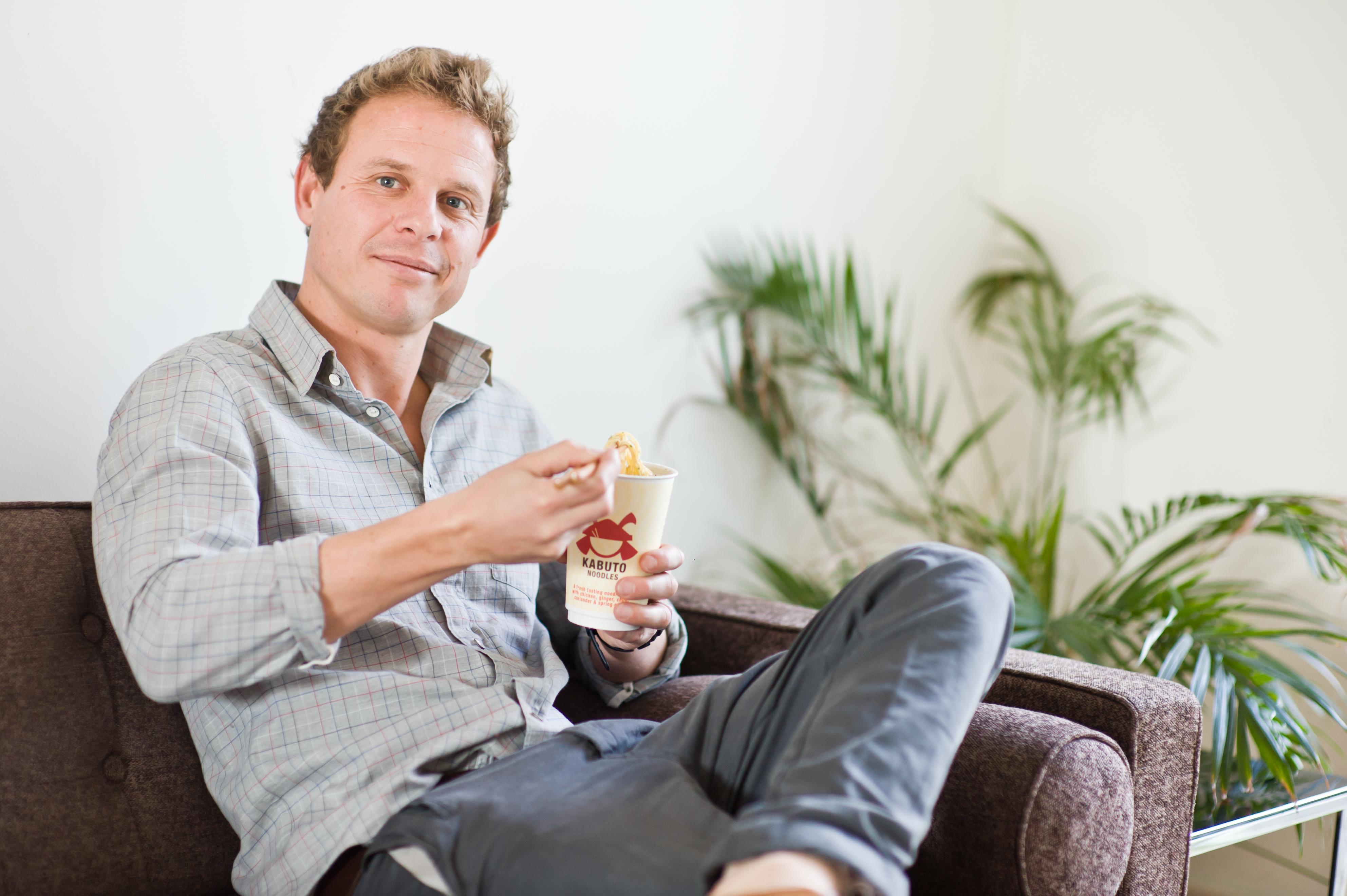 The entrepreneur taking noodle pots upmarket