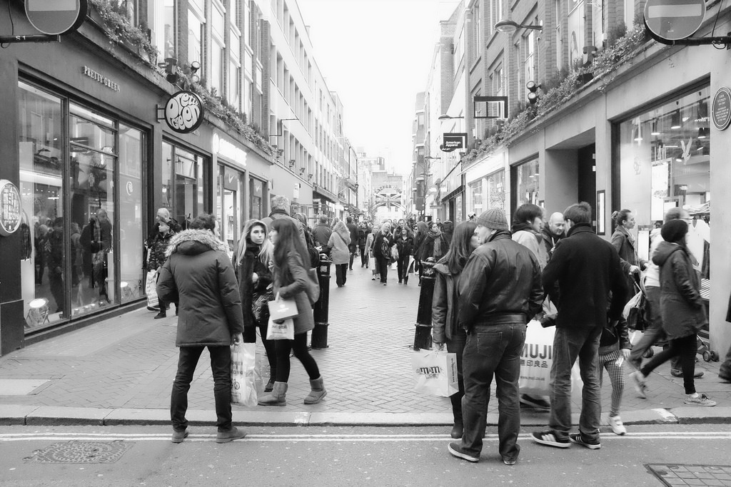 High Streets see largest footfall boost in nearly a year