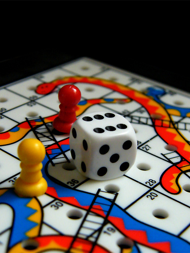 9 ways the high-growth startup scene is like Snakes and Ladders