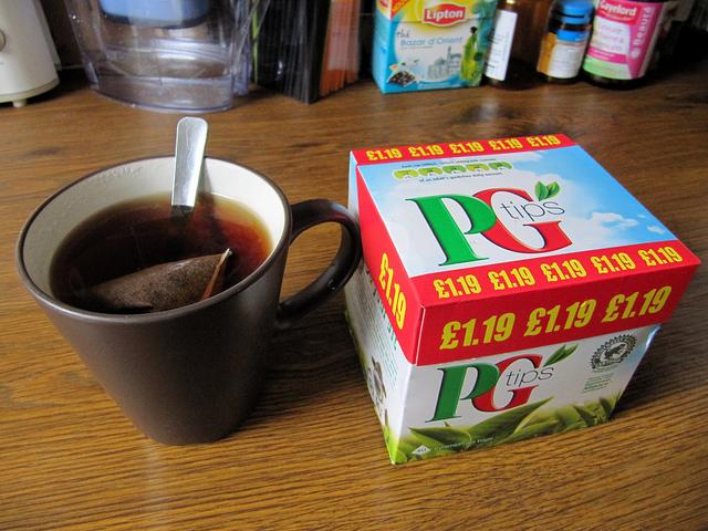 PG Tips fights off Tetley in teabag advertising dispute