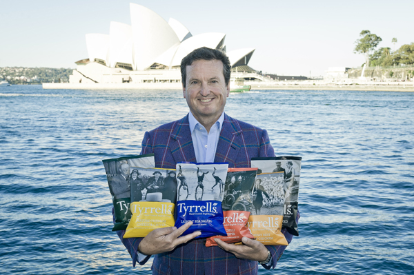 Tyrrells CEO shares his tips for going overseas