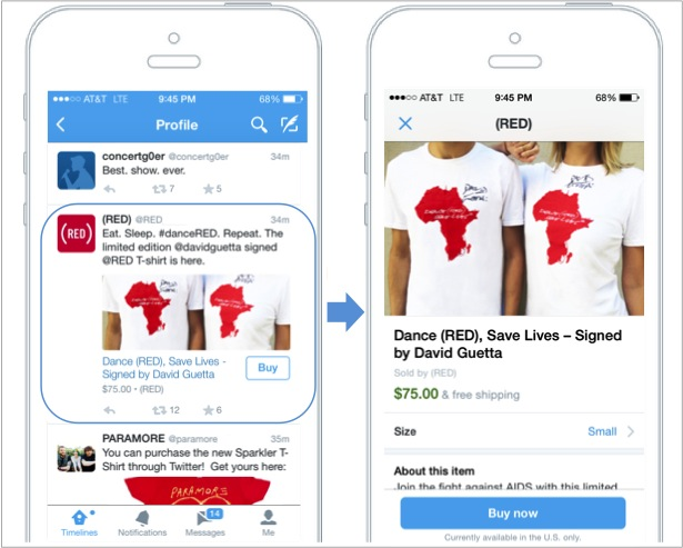 Twitter launches buy button, gap between social and ecommerce closing