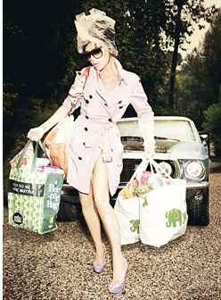 Victoria Beckham opens her first store