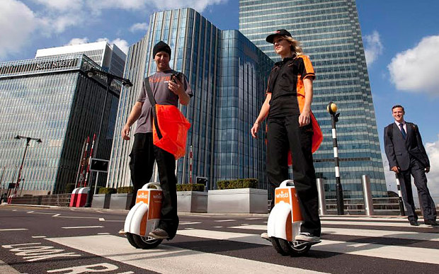 TNT rebrands and launches motorised unicycle posties