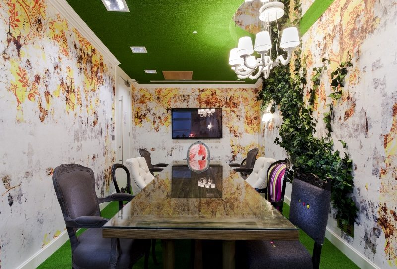These London offices are designed to look like Alice in Wonderland