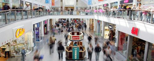 "Shopping centres to become more ""experiential"" to attract shoppers"