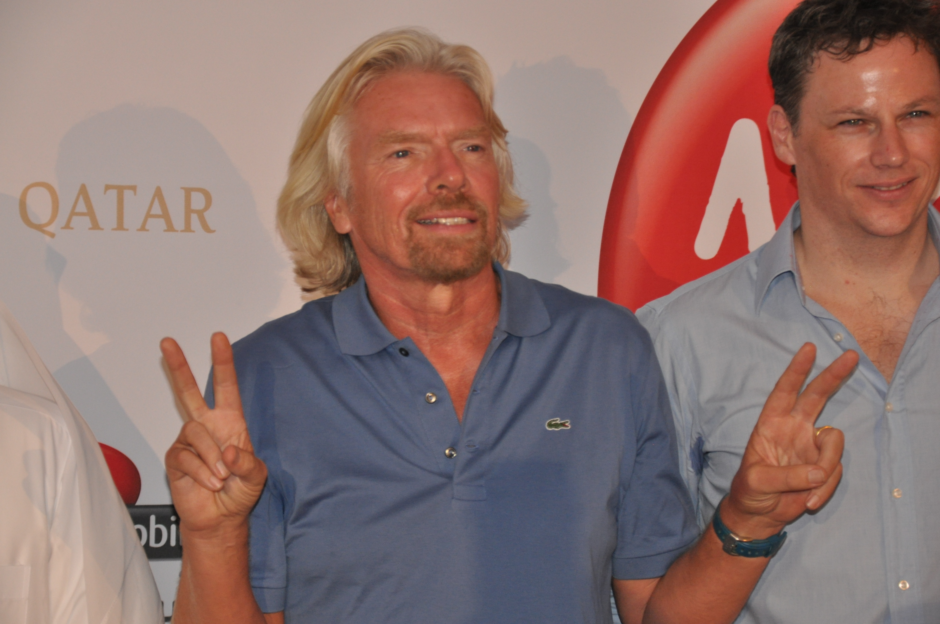 Who is Sir Richard Branson jumping into bed with (…for his investment needs)?