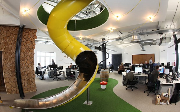 Turn your boring office into a productive playground