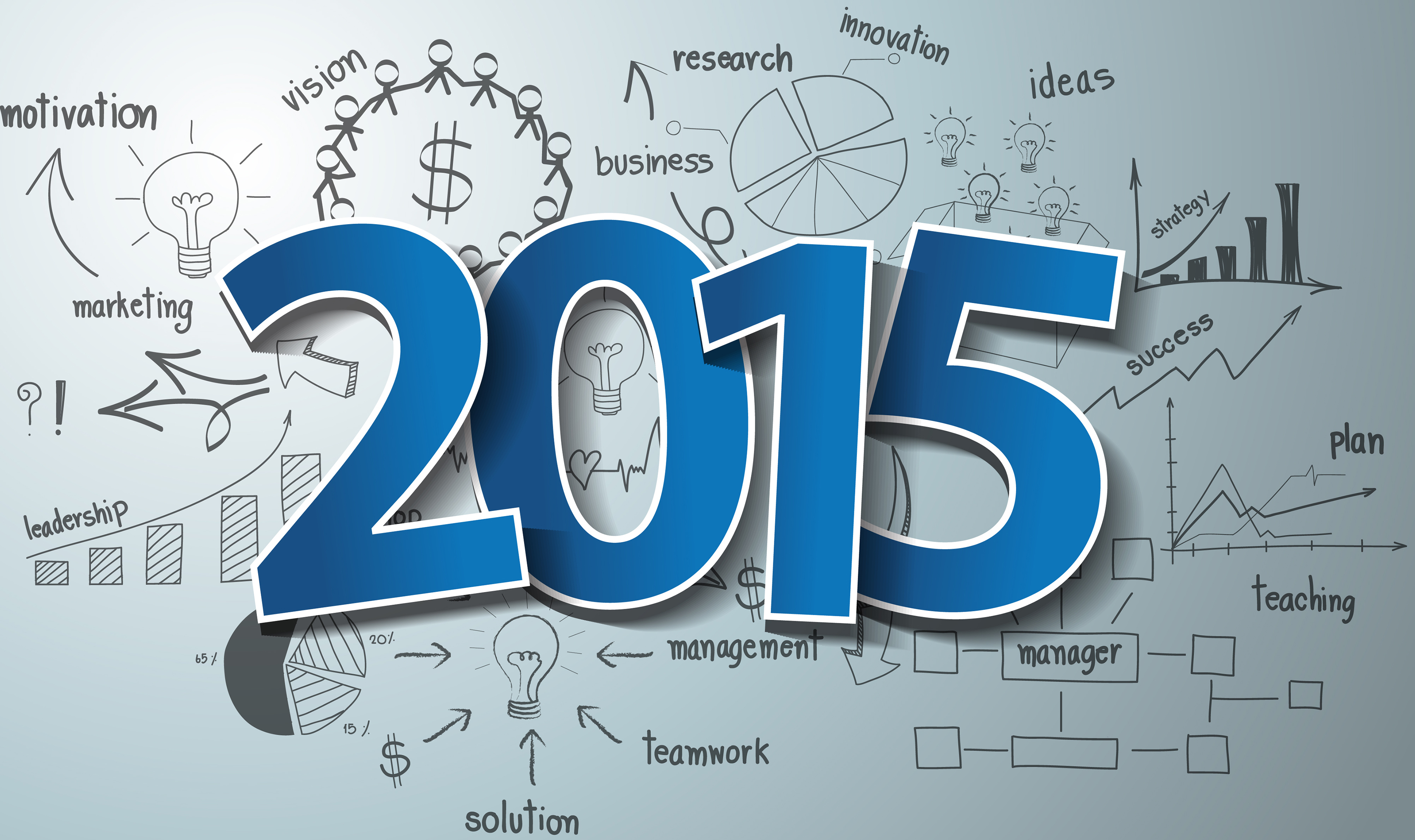 The key business landmarks of 2015