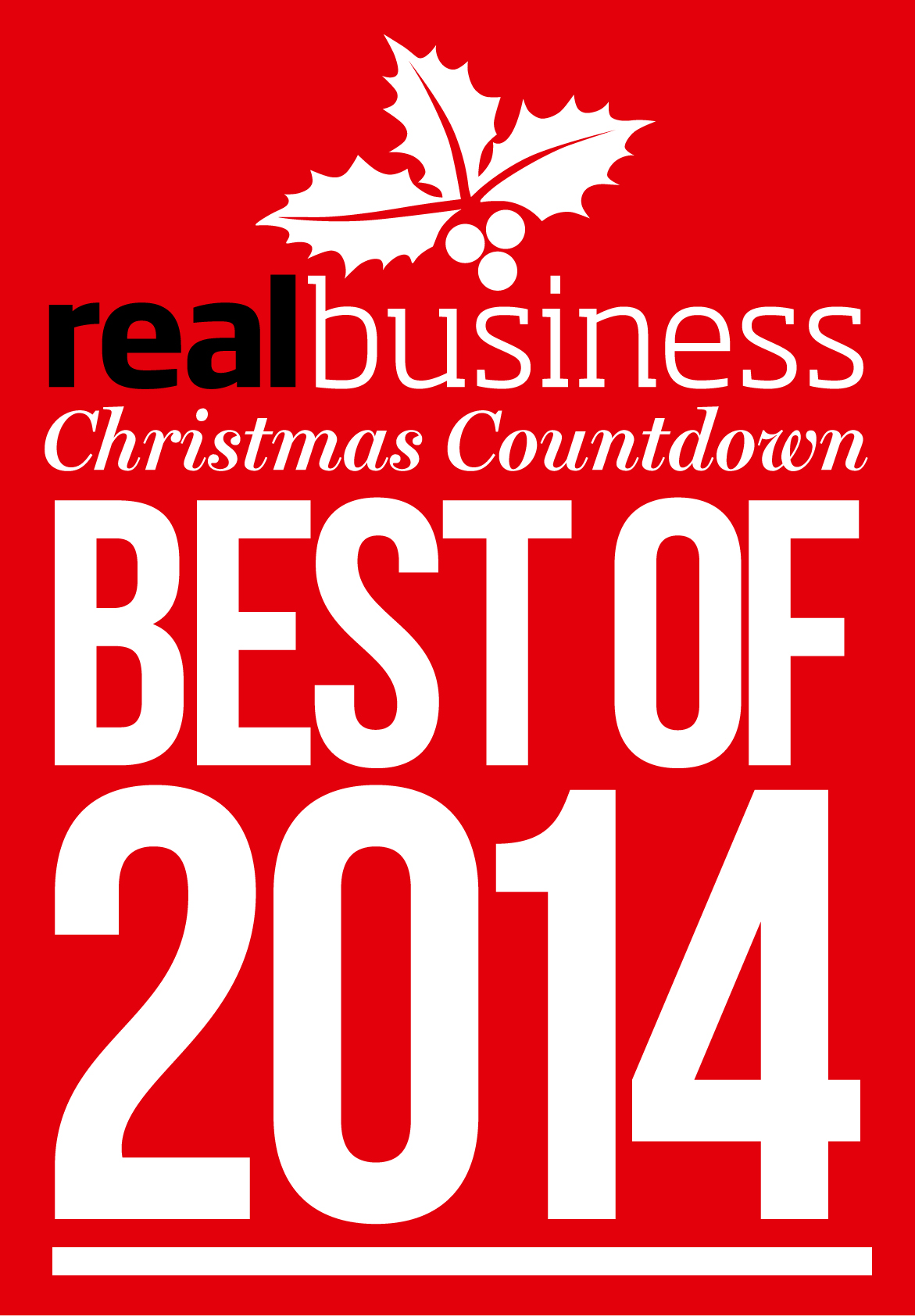 Real Business Christmas Countdown: The Best of 2014: 1 December