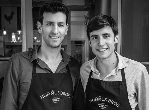 The technology boys who built a hummus business