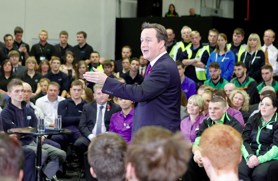 """Amount of new apprentices """"could fill 25 London Olympic stadiums"""", government reveals"""