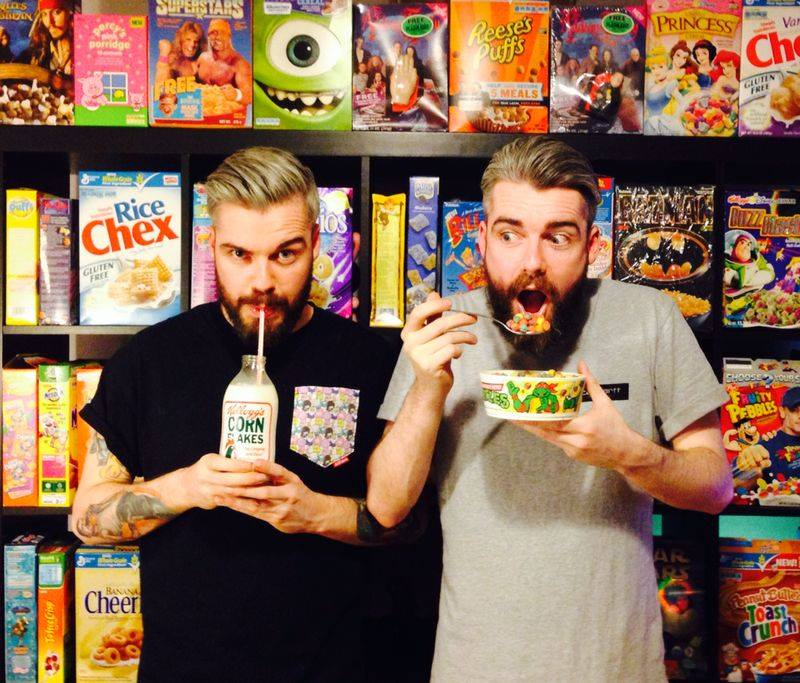 The business-building twin brothers who took breakfast to Brick Lane with the Cereal Killer Cafe