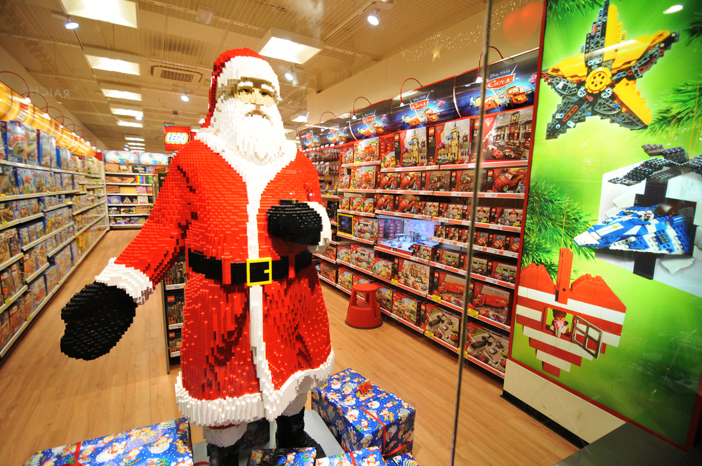 Faith in Father Christmas is good for business: UK toy exports surge by 25 per cent