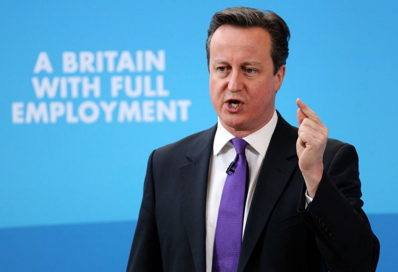 """David Cameron's pandering to startups and pledge for """"full employment"""" neglects SMEs"""