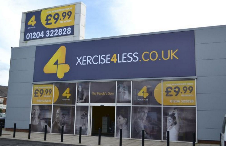 Gym chain Xercise4Less lifts £31m in equity and debt funding