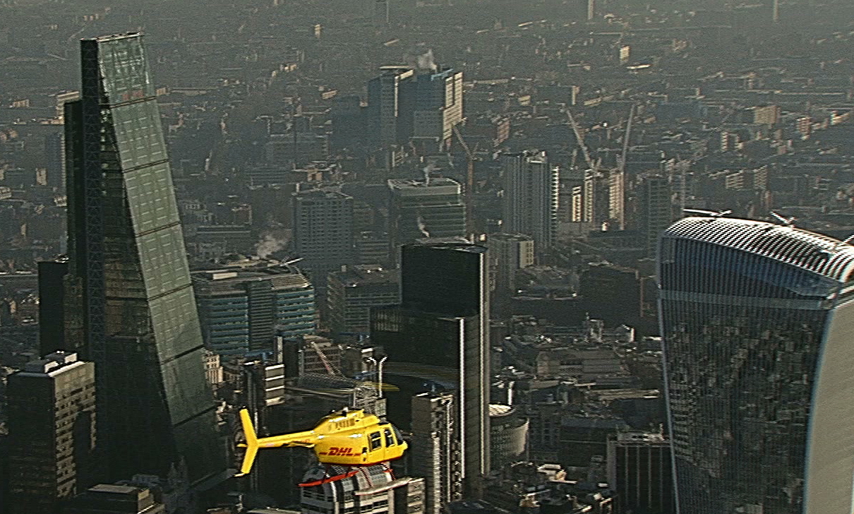 DHL trumps drone service by bringing helicopters to the delivery battle