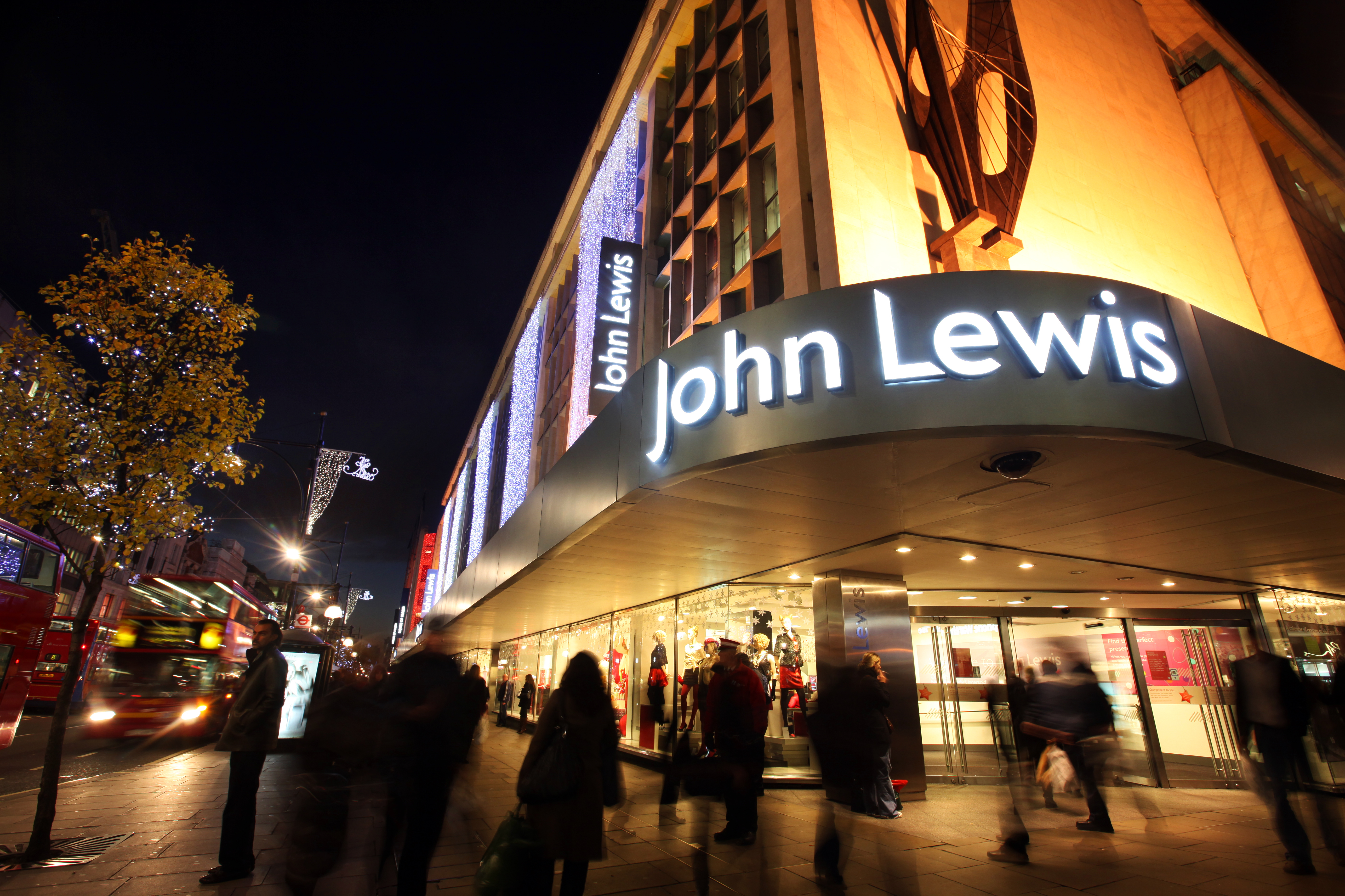 Christmas came early for John Lewis as Black Friday created biggest sales week in 150 years