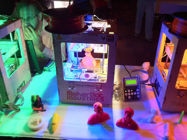 Will home 3D printers shake up industries?