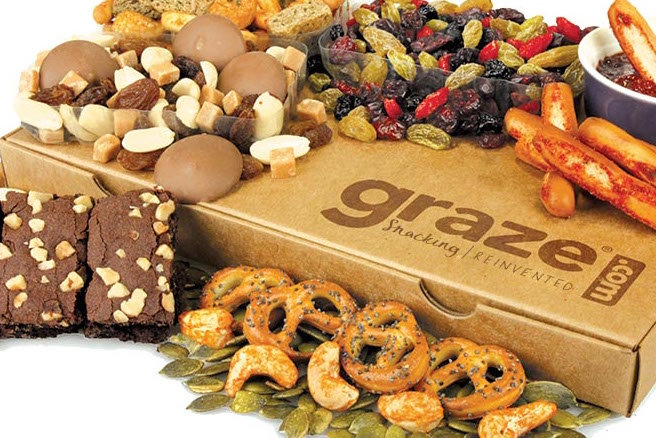 Graze CFO harnesses data to sell snack boxes