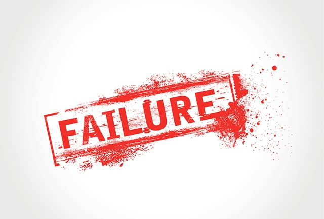 The importance of being a failure