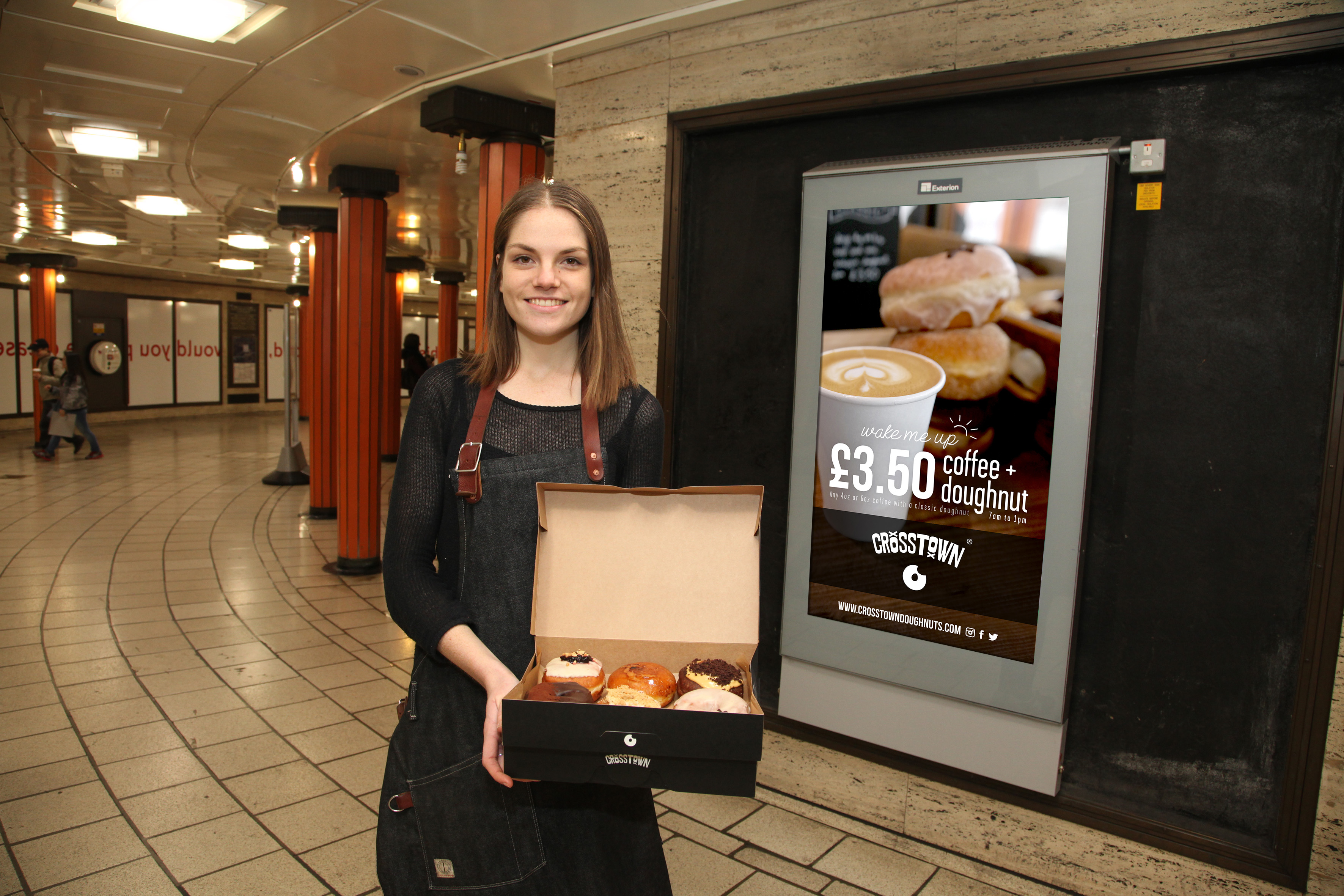 No holes found in doughnut shop's TfL real-time advertising campaign