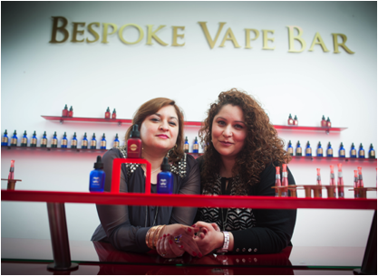 Wonder Woman inspires sisters who quit law to open female-friendly West End e-cigarette bar