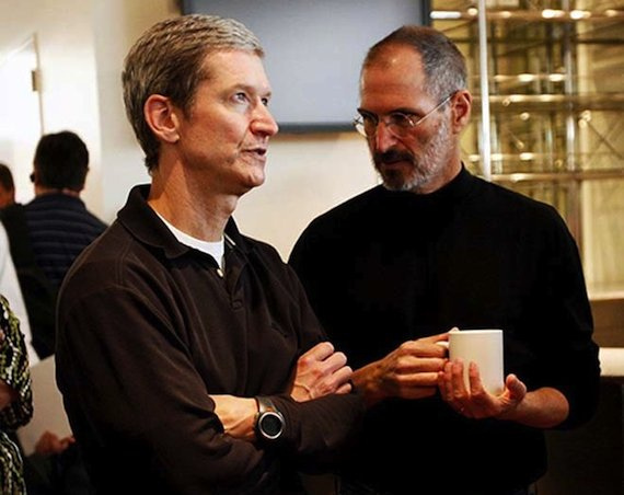 """Apple CEO Tim Cook: """"You don't have to choose between doing good and doing well"""""""