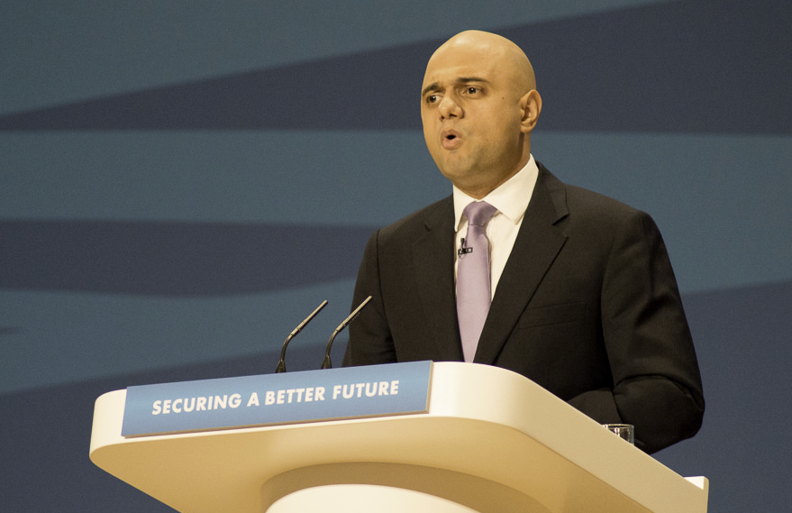 New business secretary Sajid Javid makes maiden speech from home town