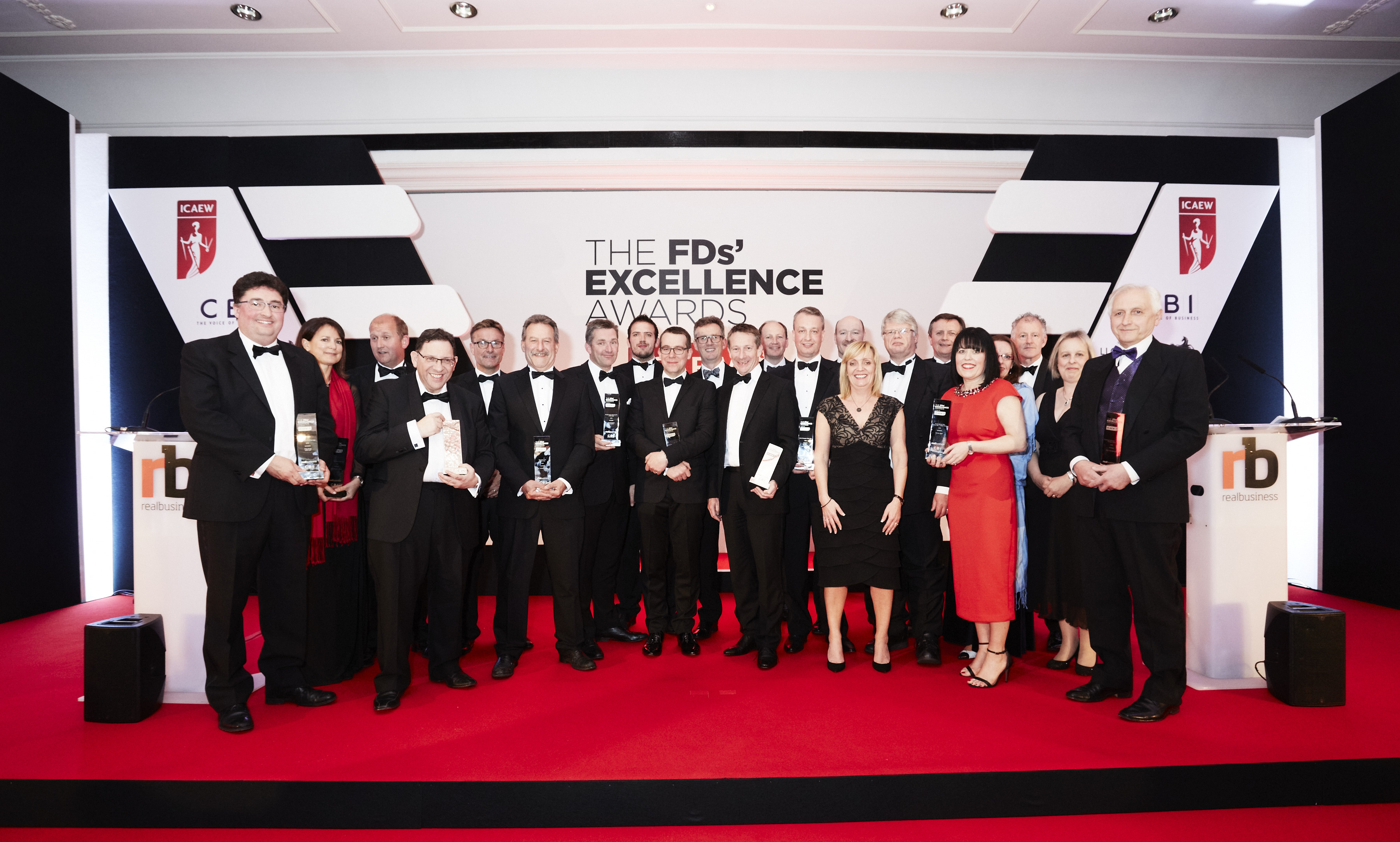JUST EAT, CitySprint and easyJet FDs amongst winners at 2015 FDs' Excellence Awards