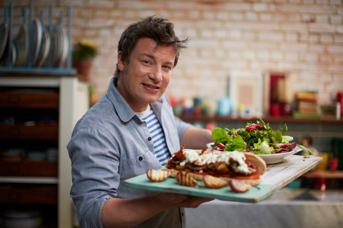How Jamie Oliver aims to disrupt the food sector via social media