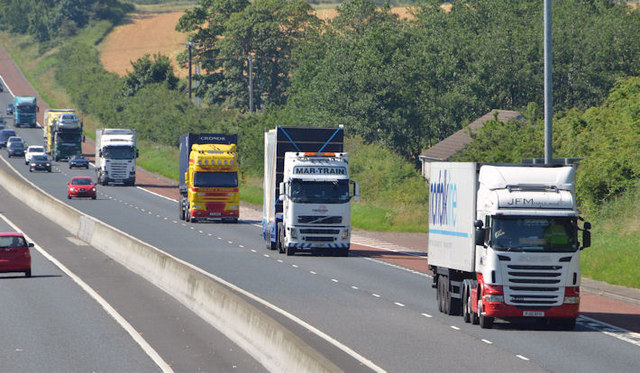Britain without lorries: A vision of 2020