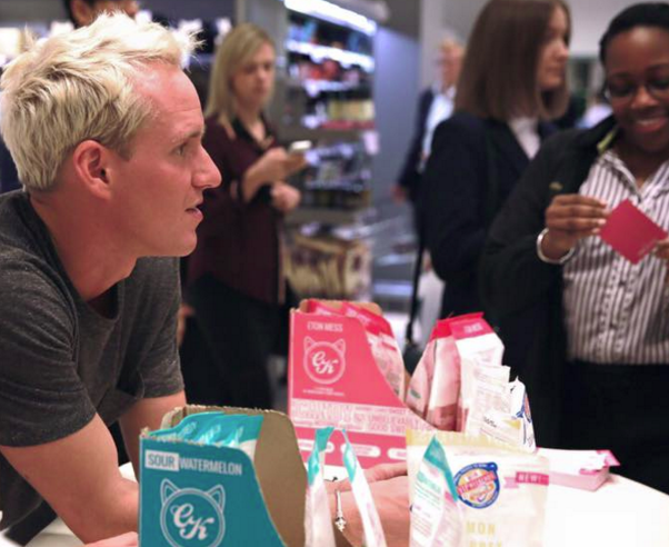 Jamie Laing's premium sweet brand Candy Kittens on track for sales of £2.5m by 2017