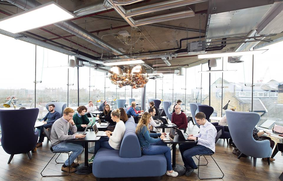 The rise of co-working and the future of the workplace in Britain