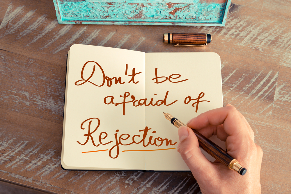 Six ways to handle rejection in terms of sales