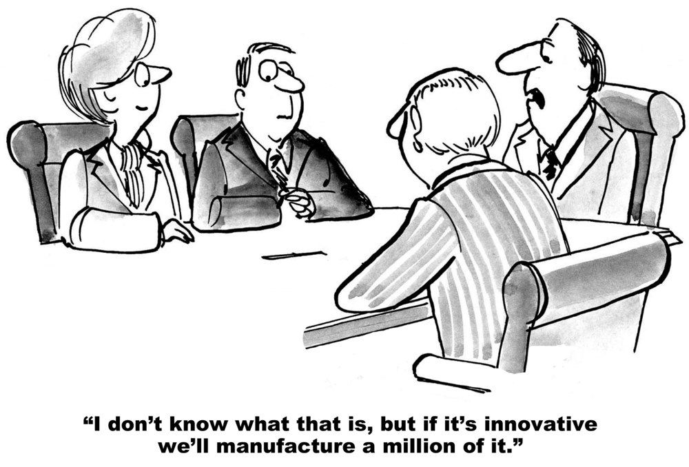 Look back to move forward: Innovation is a must to become, and remain, a market leader