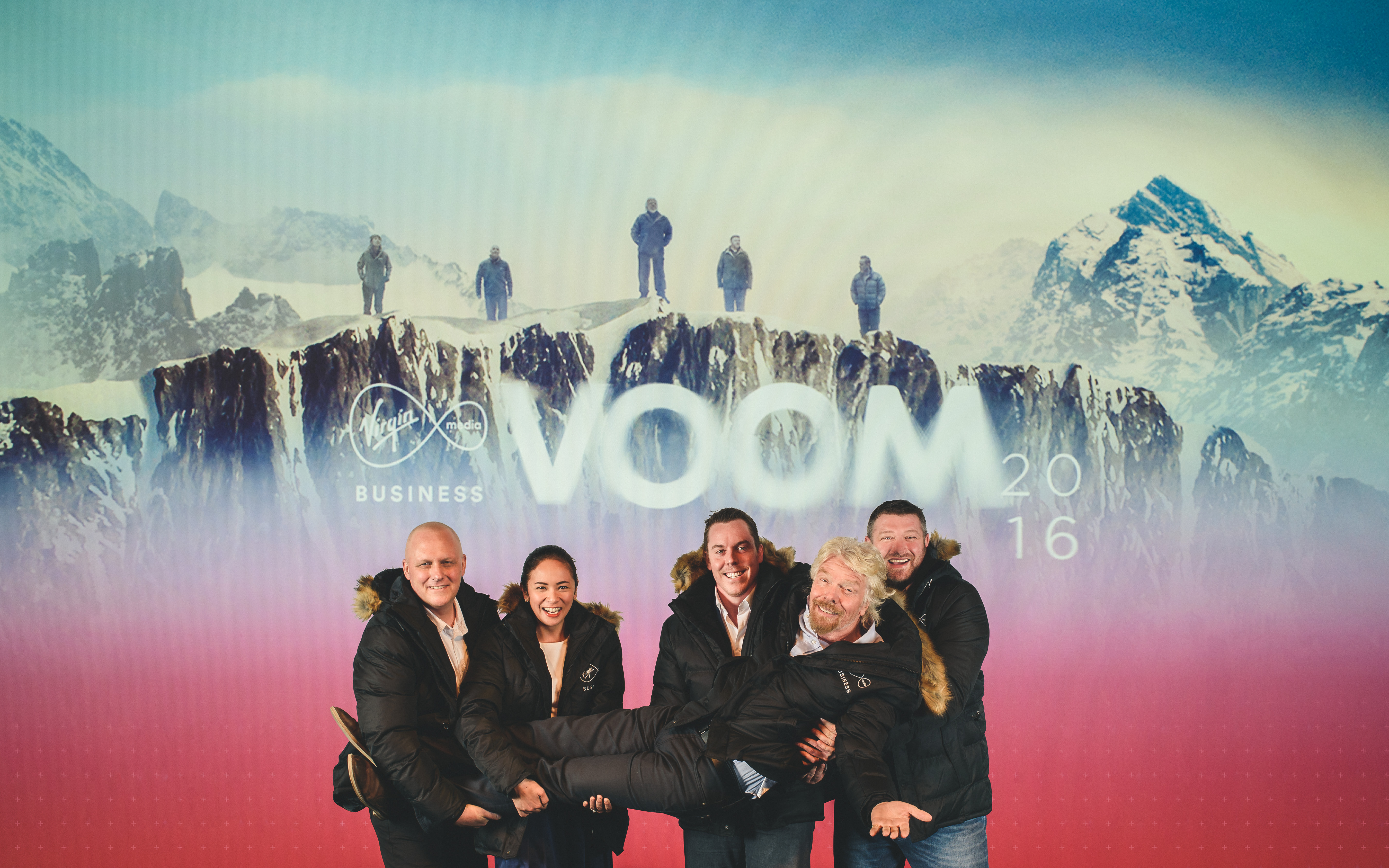 Pitch to Rich axed: Richard Branson's £1m business challenge reborn as VOOM 2016