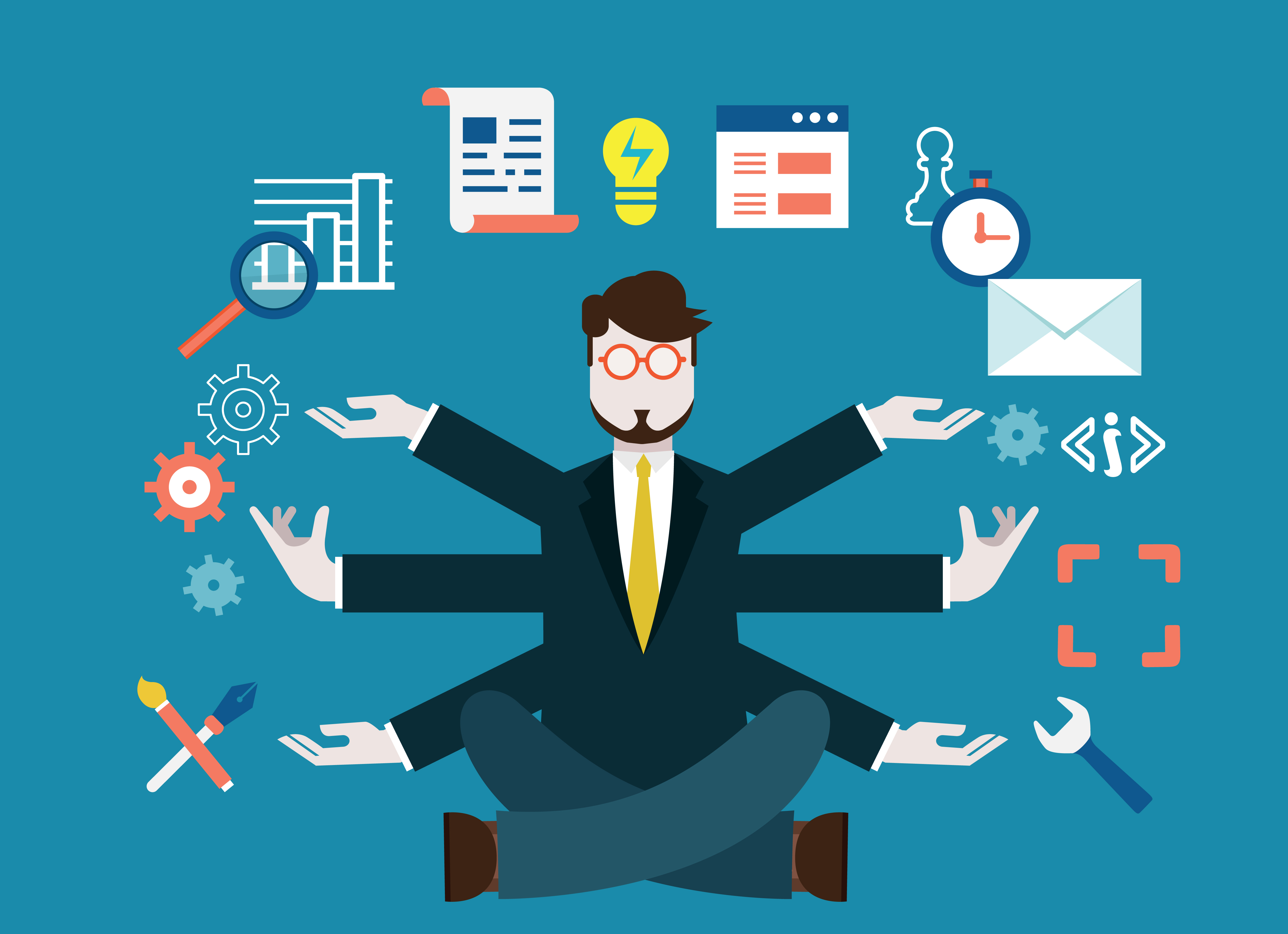 Mindful working: Stop talking and start doing!